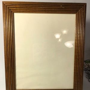 "Vintage, Walnut stained frame, 8x10"""